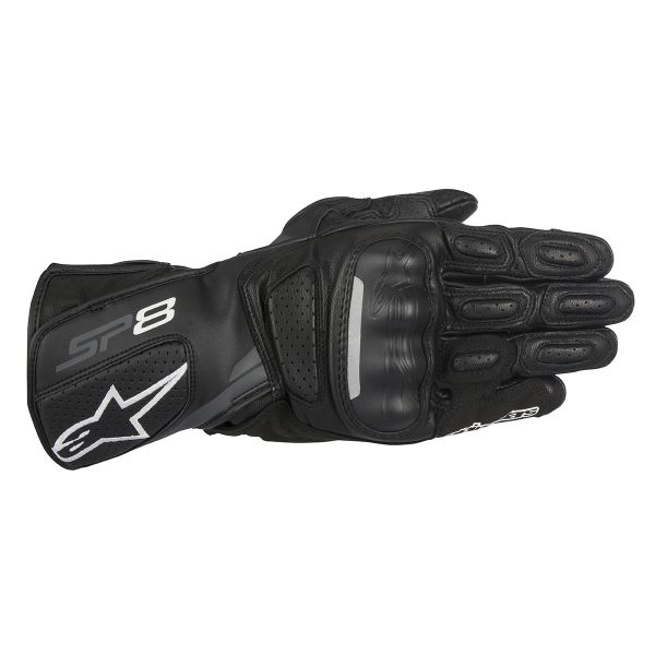Gants Moto Alpinestars SP-8 V2 Black Dark Grey