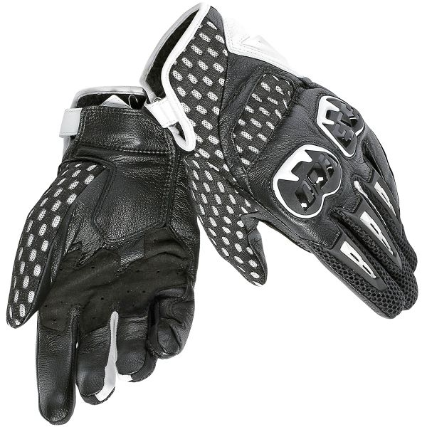 Gants Moto Dainese Air Hero White Black