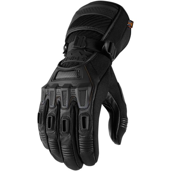 Gants Moto ICON Alcan Black