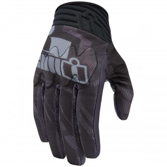 Gants Moto ICON Anthem Primary Black