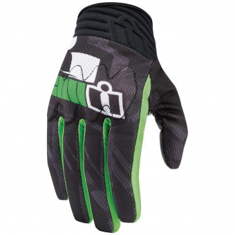 Gants Moto ICON Anthem Primary Green