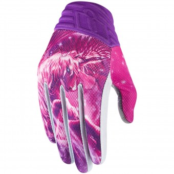 Gants Moto ICON Anthem Sweet Dreams Pink