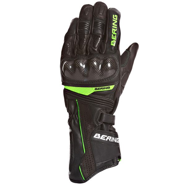 Gants Moto Bering Bolt Black White Green