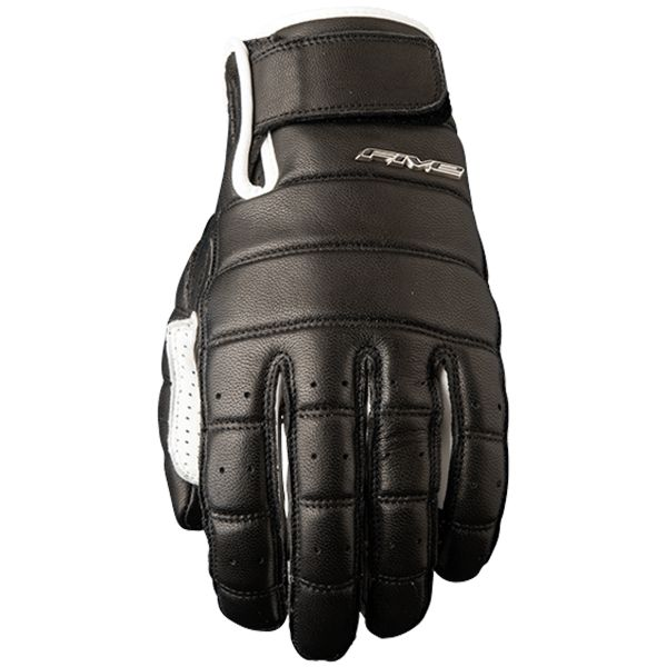 Gants Moto Five California Black White