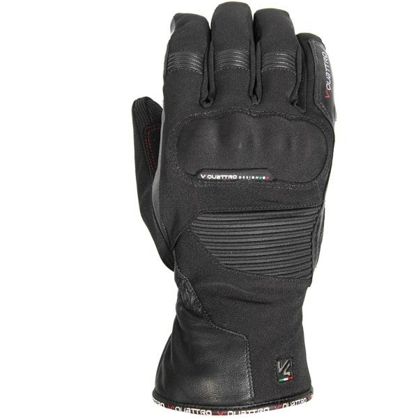 gants moto v 39 quattro carter noir au meilleur prix. Black Bedroom Furniture Sets. Home Design Ideas