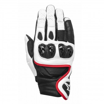 Gants Moto Alpinestars Celer White Black Red