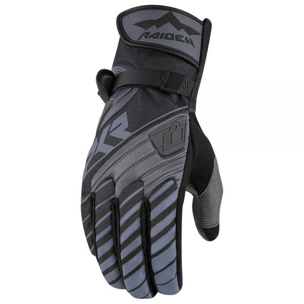 Gants Moto ICON DKR Glove Black