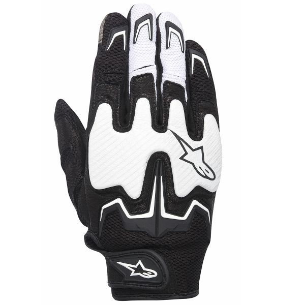 Gants Moto Alpinestars Fighter Air Noir Blanc