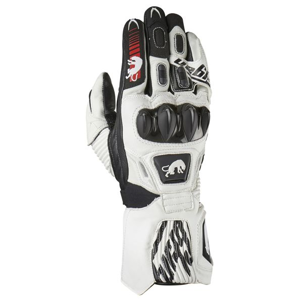 Gants Moto Furygan Fit R2 White Black