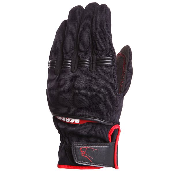 Gants Moto Bering Fletcher Black Red