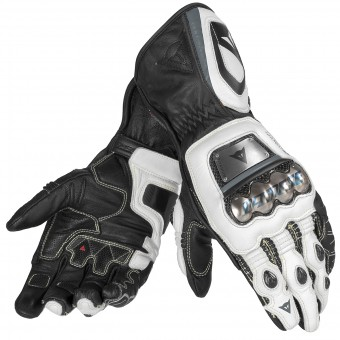 Gants Moto Dainese Full Metal D1 Black White Anthracite