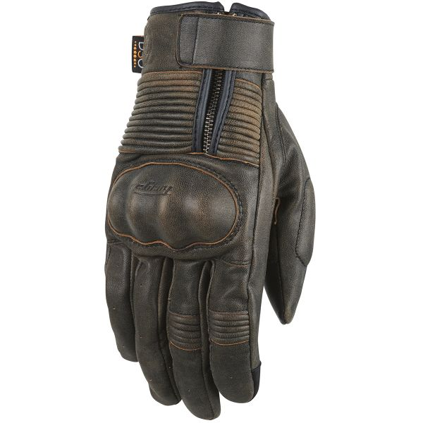 Gants Moto Furygan James Rusted D3O Brown