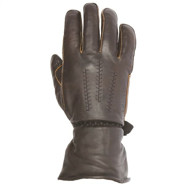 Gants Moto Helstons Jeff Leather Brown