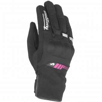 Gants Moto Furygan Jet Lady All Season Black Pink