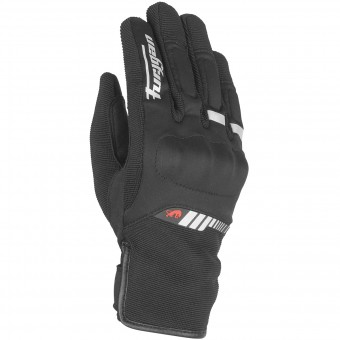 Gants Moto Furygan Jet Lady All Season Black White