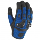 Gants Moto ICON Justice Mesh Blue