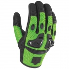 Gants Moto ICON Justice Mesh Green