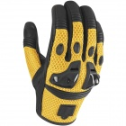 Gants Moto ICON Justice Mesh Yellow
