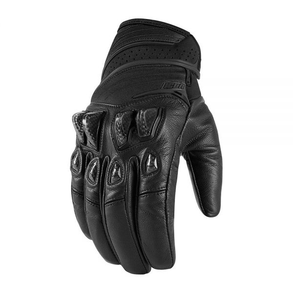 Gants Moto ICON Konflict Black Stealth