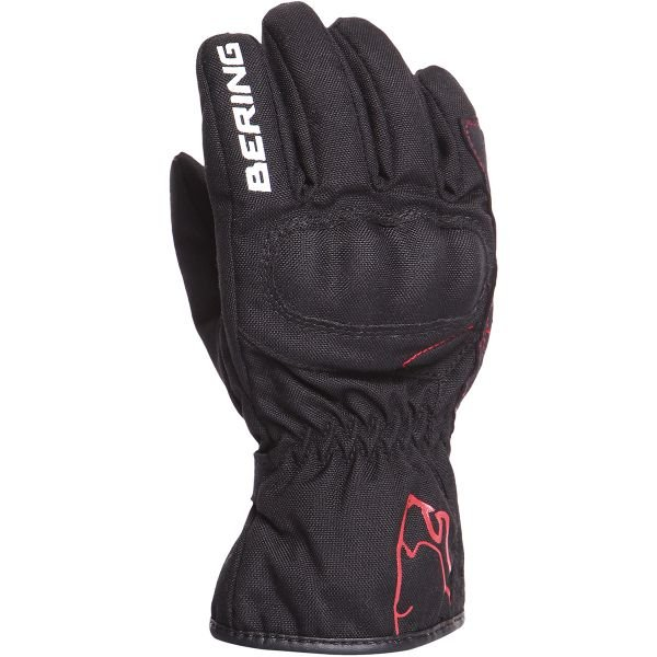 Gants Moto Bering Leni Black Kid