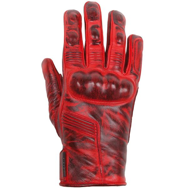 Gants Moto Helstons Lightning Lady Summer Red