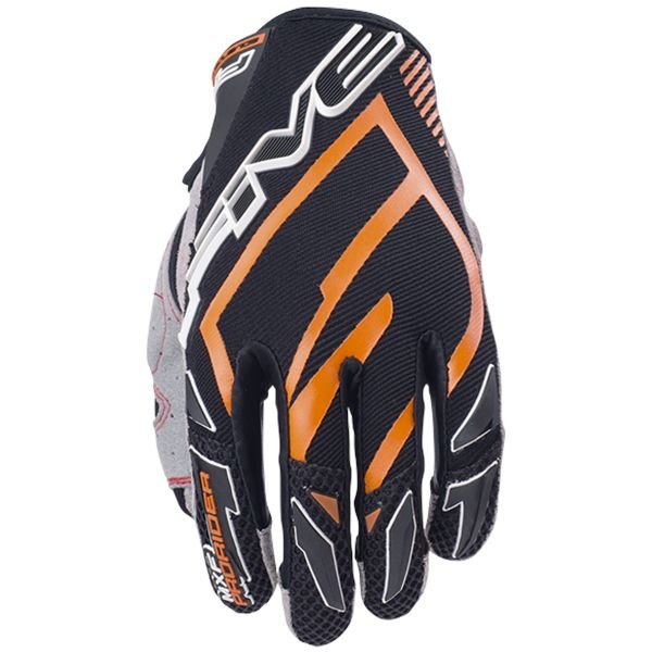 Gants Moto Five MXF Pro Rider Orange