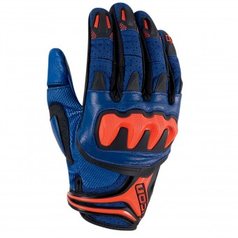 Gants Moto ICON Overlord Resistance Blue
