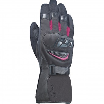 Gants Moto Ixon Pro Ice HP Lady Black Pink