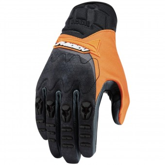 Gants Moto ICON Raiden UX Glove Orange