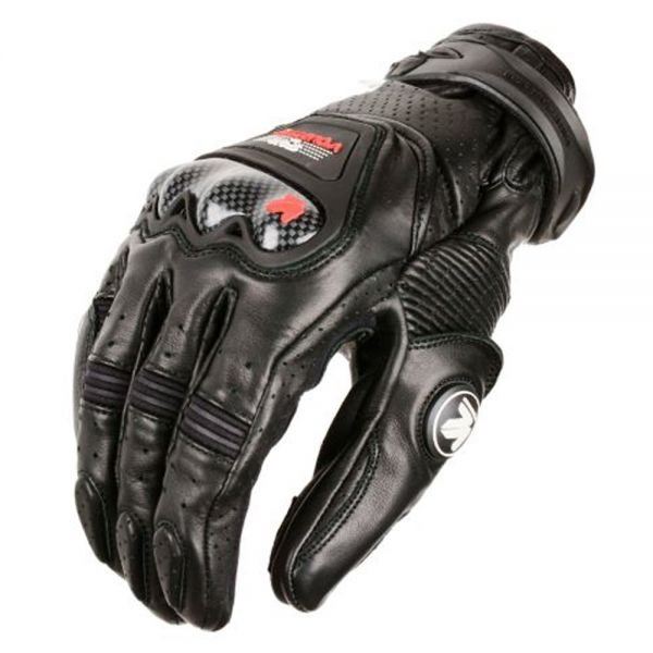 Gants Moto V'Quattro RC-01 Black Red
