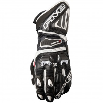 Gants Moto Five RFX1 Black White
