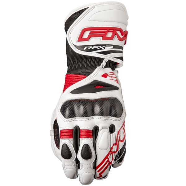 Gants Moto Five RFX2 White Red