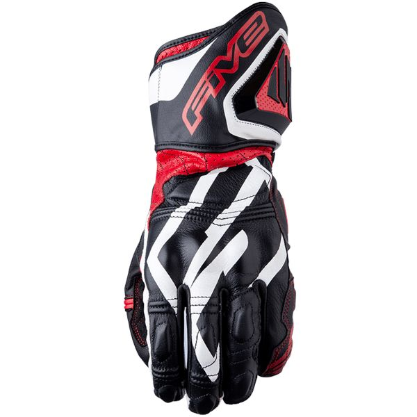Gants Moto Five RFX3 Replica Black Red