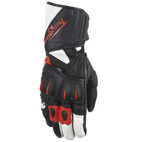 Gants Moto Furygan RG-18 Black White Red