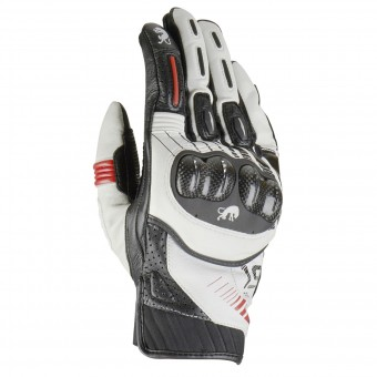 Gants Moto Furygan RG19 White Black