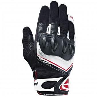 Gants Moto Ixon RS Drift Black White Red