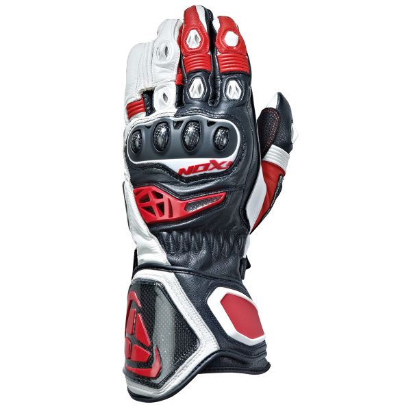 Gants Moto Ixon RS Genius Black White Red