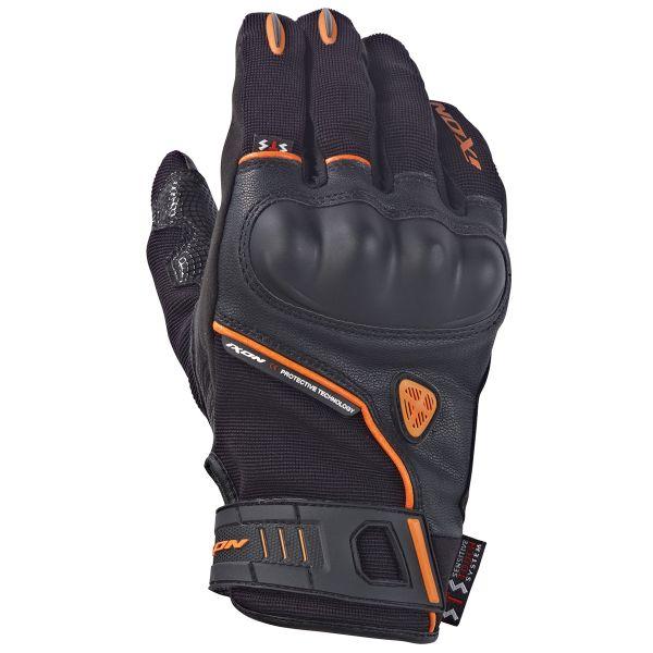 gants moto ixon rs grip hp noir orange au meilleur prix. Black Bedroom Furniture Sets. Home Design Ideas