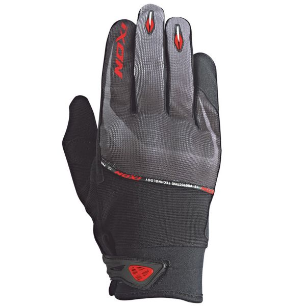 Gants Moto Ixon RS Lift HP Black Grey Red