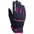Gants Moto Ixon RS Lift Lady HP Noir Blanc Fushia