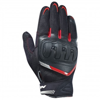 Gants Moto Ixon RS Loop Black White Red