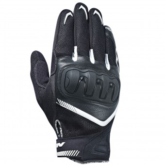 Gants Moto Ixon RS Loop Black White
