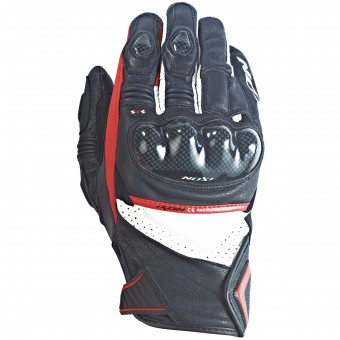 Gants Moto Ixon RS Pistol Hp Black White Red