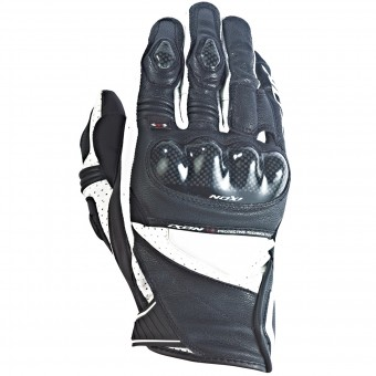 Gants Moto Ixon RS Pistol Hp Black White