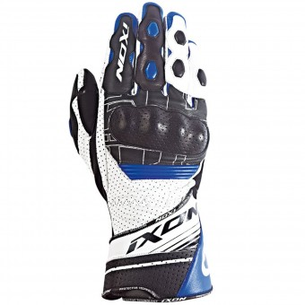 Gants Moto Ixon Rs Rallye Hp Black White Blue