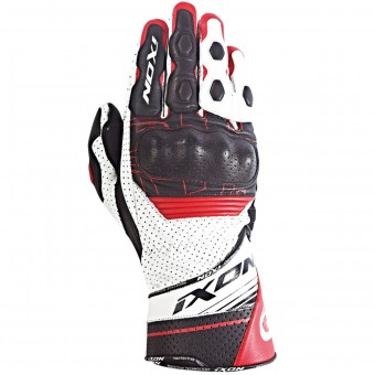 Gants Moto Ixon Rs Rallye Hp Black White Red