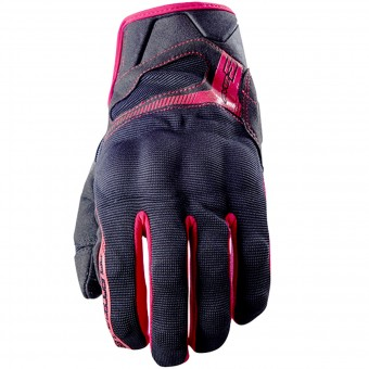 Gants Moto Five RS3 Black Red
