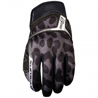 Gants Moto Five RS3 Woman Leo Grey
