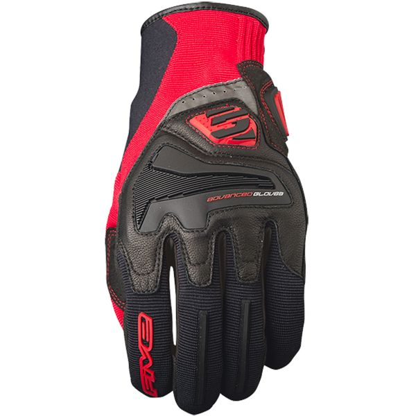 Gants Moto Five RS4 Black Red