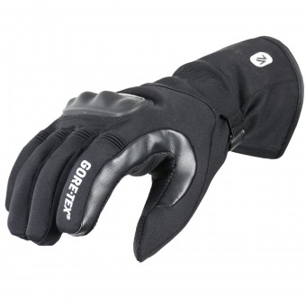 Gants Moto V'Quattro Runner Gore-Tex Black